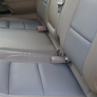 New Leather Back Seats