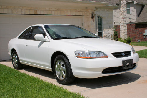 1999 honda accord ex 2 door