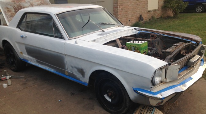 Bought a 1966 Mustang